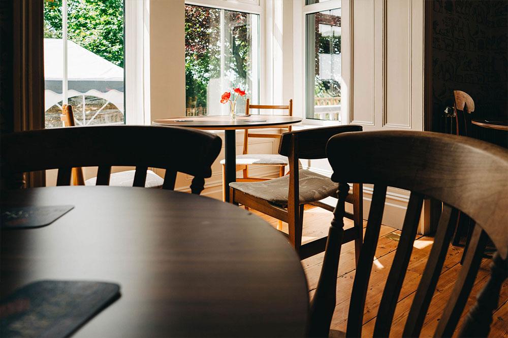 Bryn Berwyn Room bar seating