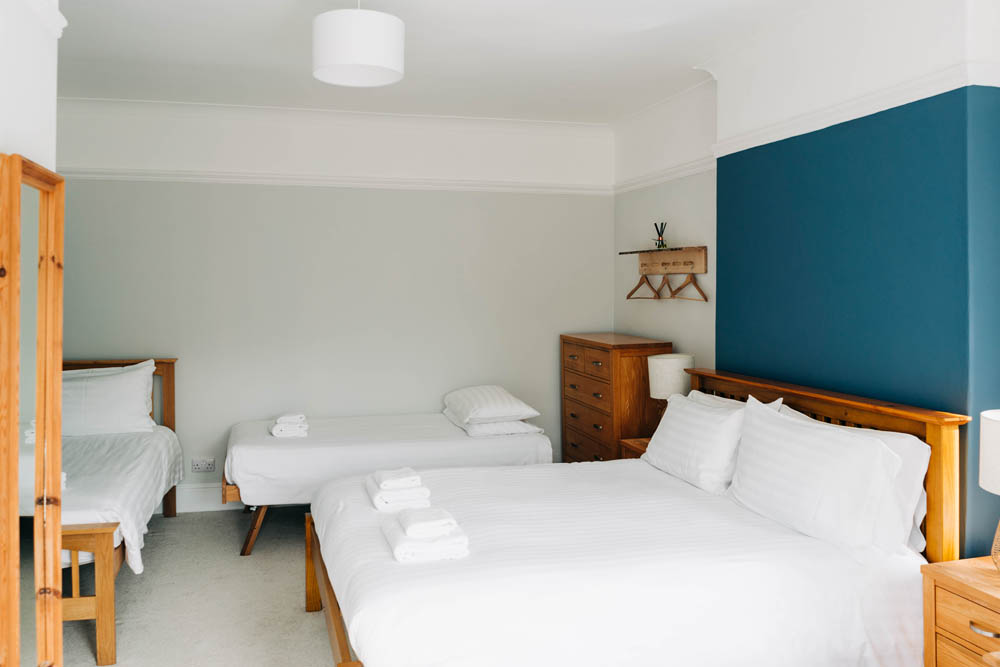 Bryn Berwyn Room 1 Family Suite - single beds