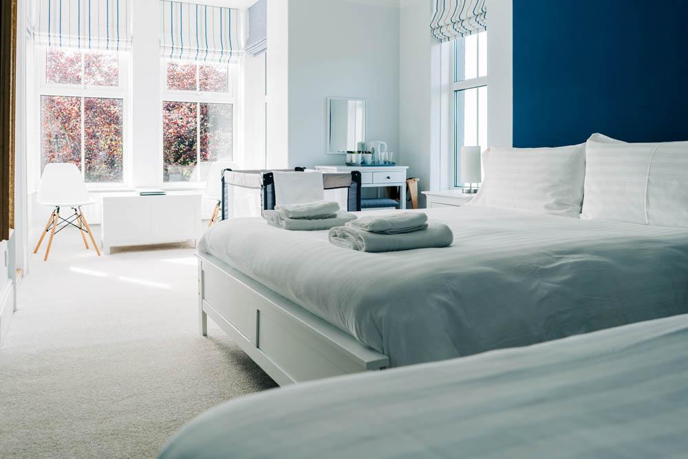 Bryn Berwyn Room 2 - set up with cot