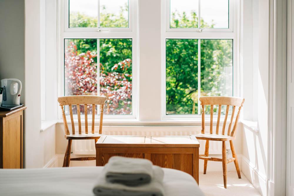 Bryn Berwyn Room 1 Family Suite - chairs
