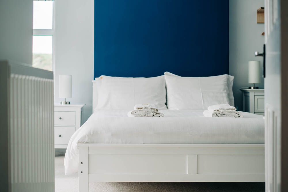 Bryn Berwyn Room 2 - clean, modernist rooms