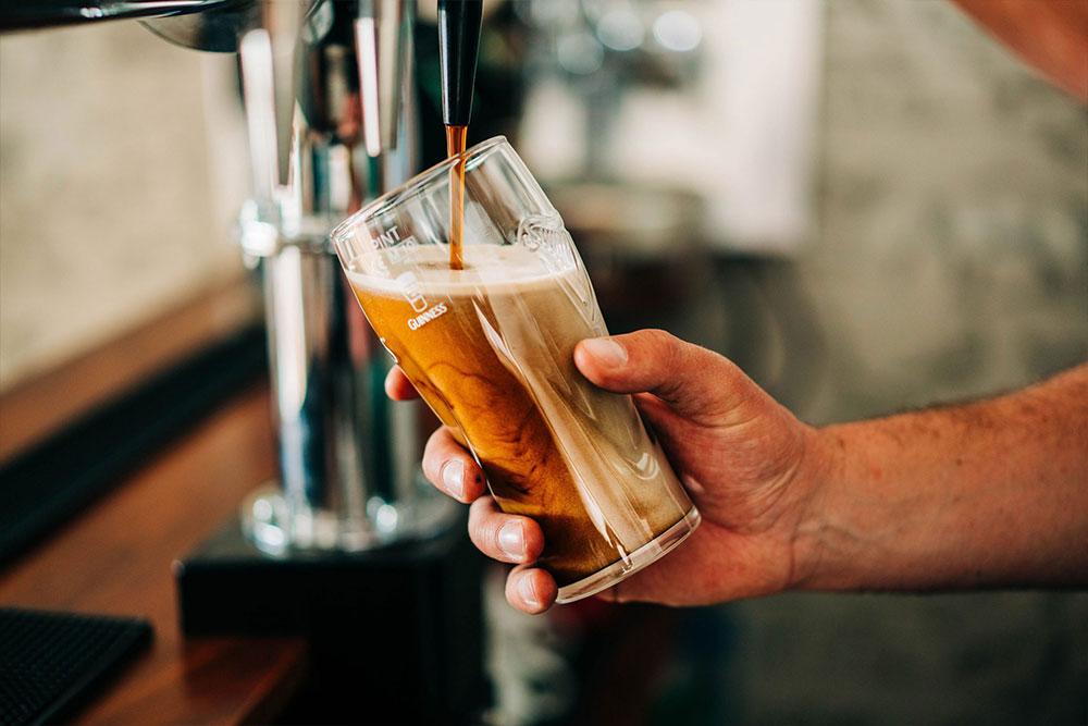 Bryn Berwyn Country House enjoy a drink in the bar
